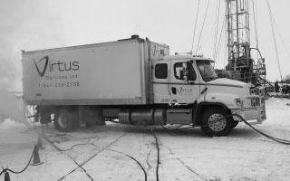 2014 Freightliner Steam Truck - Virtus Grande Prairie Fleet